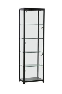 CSF 5003 Black Glass Showcase