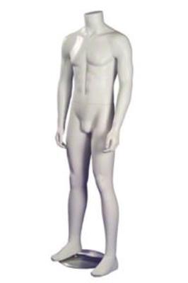 Male Head Less Fiber Glass Mannequins