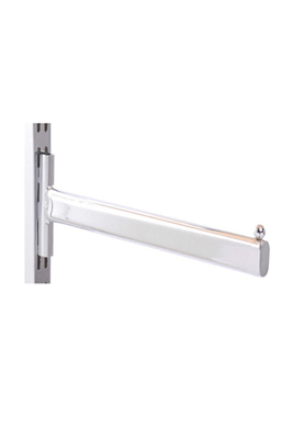 Twin Slot upright straight arm – 400mm